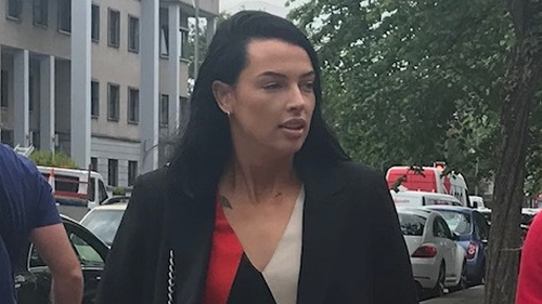 Ashling Thompson seen arriving at Cork District Court
