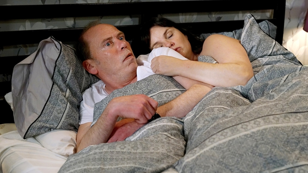 Hughie is shocked to wake up next to Heather on Fair City