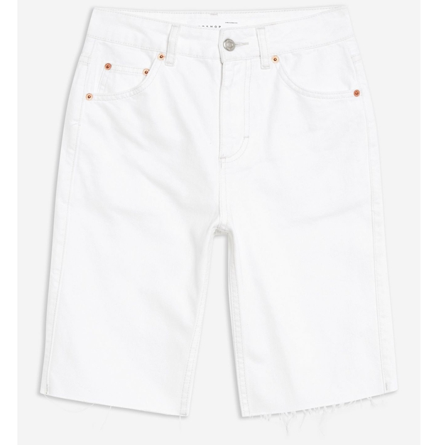 Topshop White Cycle Shorts