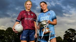 Fiona Claffey of Westmeath (l) and Sinéad Goldrick of Dublin