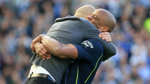 Kompany feels he has had the ideal role model in former Barcelona boss Guardiola