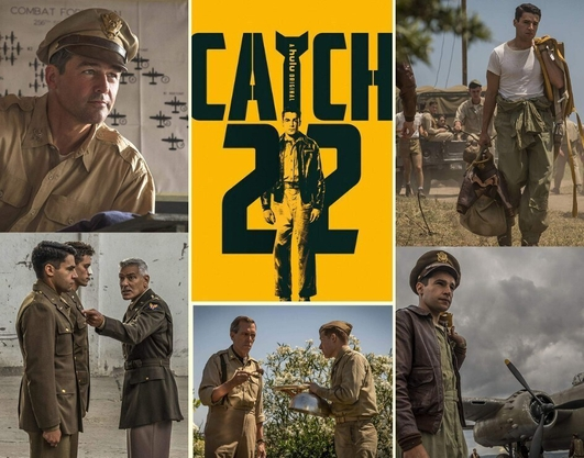 "TV preview:  ""Catch 22"" on Channel 4"