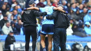 It was feared James McCarthy suffered a long-term injury in the Leinster final defeat of Metah