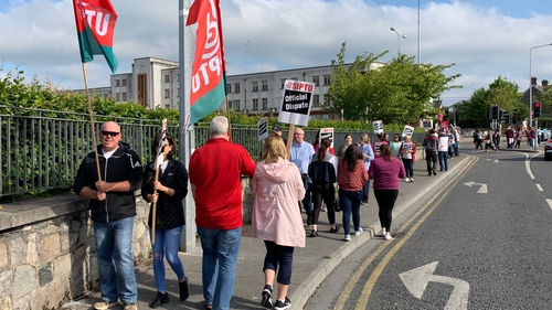 SIPTU said the Labour Court had requested the strike be deferred while it deals with the matter
