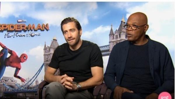 Jake Gyllenhaal and Samuel L Jackson