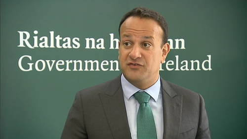 Leo Varadkar said it was the UK who insisted the backstop should apply to the UK as a whole