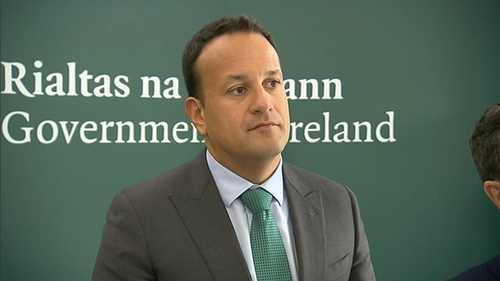 Leo Varadkar said he is flattered, but insists he has no plans for a career change