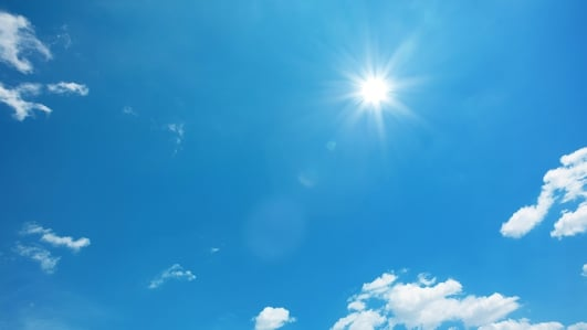 Lack of sunshine blamed for Vitamin D deficiency
