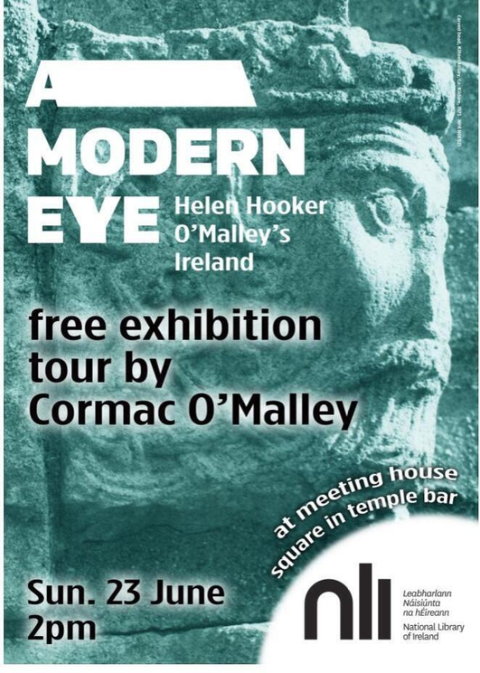 """""""A Modern Eye: Helen Hooker O'Malley's Ireland"""", an exhibition at the National Library of Ireland"""