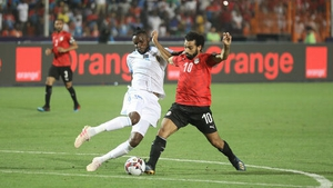 Mohamed Salah was on the mark against Congo