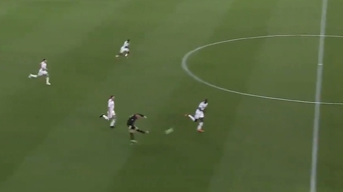 Wayne Rooney unleashes a long-range effort against Orlando City