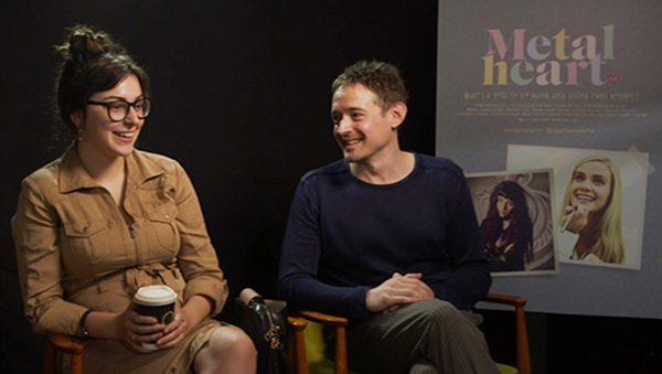 """Jordanne Jones with Metal Heart director Hugh O'Conor - """"Go on a journey with yourself"""""""
