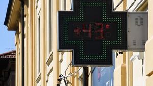 Temperatures in Europe went above 40C during recent heatwaves