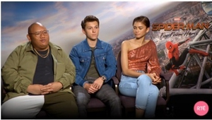 Jacob Batalon, Tom Holland and Zendaya