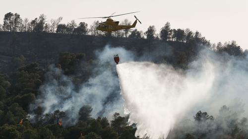 The wildfires are among the worst Catalonia has seen in 20 years