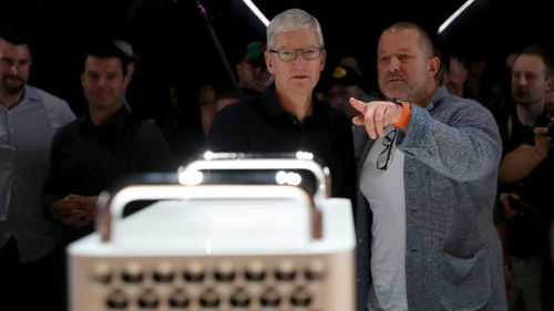 Tim Cook said Jony Ive is a singular figure in the design world