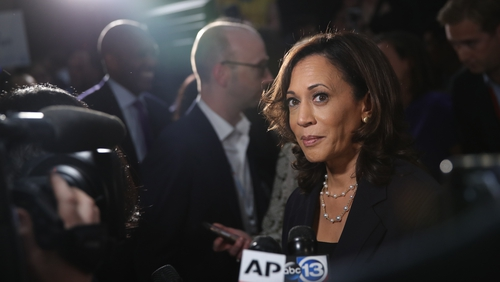 Kamala Harris entered the race as a front-runner but then struggled to maintain support