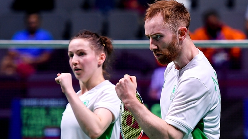 Chloe Magee and Sam Magee will take home at least a bronze medal