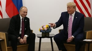 Vladimir Putin and Donald Trump met on the sidelines of the G20 summit