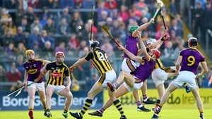 Kilkenny and Wexford drew a fortnight ago