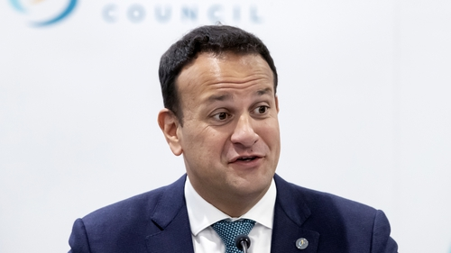 Leo Varadkar was speaking at a meeting of the British Irish Council in Manchester
