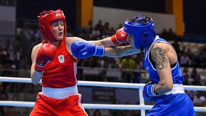 Kellie Harrington booked her spot in the final on a unanimous decision