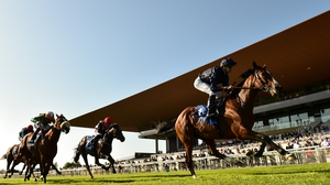 Coverage begins from the 2000 Guineas at The Curragh on 12 June