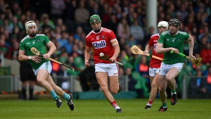 Cian Lynch (L) and Declan Hannon (R) in action against Cork earlier this summer
