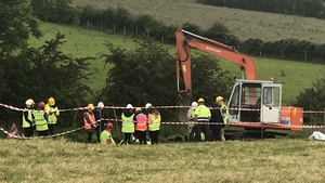 Experts, as well as pupils from Foyle College and Ballybay Community College, have been excavating the site