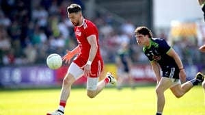 Matthew Donnelly in action for Tyrone