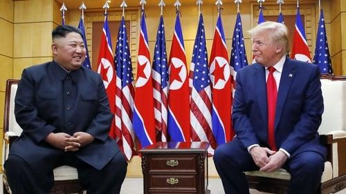 North Korean Leader Kim Jong-un and US President Donald Trump held a meeting at the DMZ