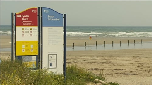 The incident happened at Tyrella Beach earlier this week