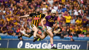 O'Connor gets away from Enda Morrissey of Kilkenny