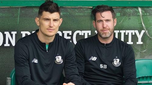 Graham Cummins has signed for Stephen Bradley's Shamrock Rovers
