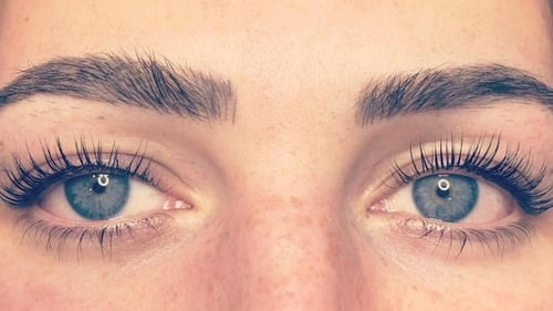 Prudence Wade hates putting on mascara in the heat - but the LVL lash lift might be the solution to all her woes.