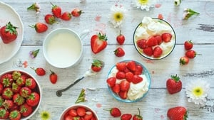 There's nothing quite like strawberries and cream- but let's mix it up a bit.