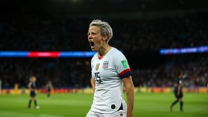 Megan Rapinoe is the Sports Illustrated's Sportsperson of the Year