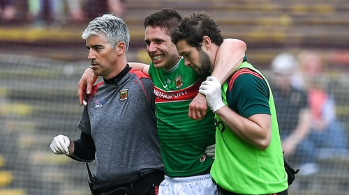 Lee Keegan is back in the Mayo starting XV