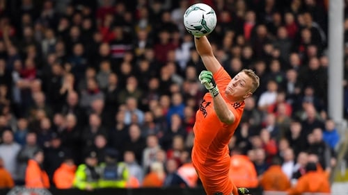 James Talbot made some important saves for Bohemians