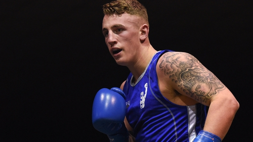 Kevin Sheehy had hoped to make a career out of boxing