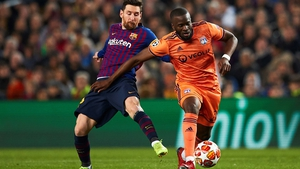 Tanguy Ndombele in action