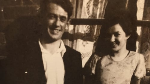 A Dog Barking in the Darkness: The author's parents, Michael and Molly Dolan
