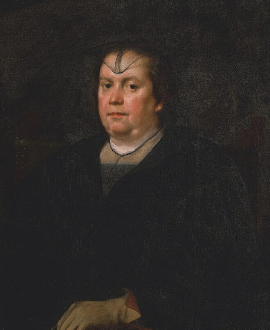 Donna Olimpia Maidalchini Pamphilj, the subject of a lost Velazquez