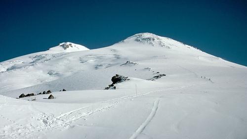 Mount Elbrus is considered to be Europe's highest peak