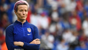 Megan Rapinoe was surprised by her inclusion in the FIFA's Women's World11 team