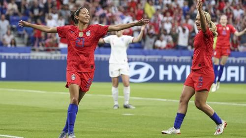 USA advanced to the final