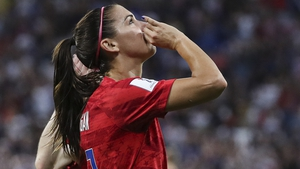 Alex Morgan's goal turned out to be the winner