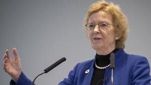 Mary Robinson is friends with PrincessHaya bint Hussein