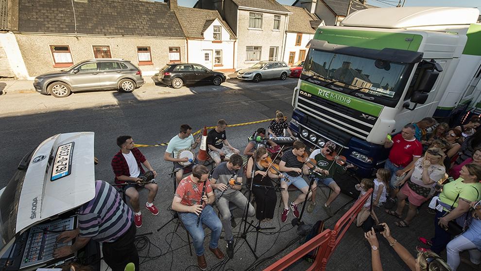 RTÉ RnaG beo ó Scoil Samhraidh Willie Clancy 2019