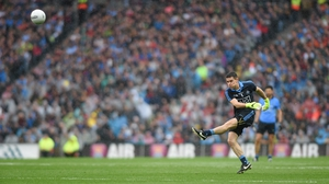 Dublin's Stephen Cluxton in typical pose